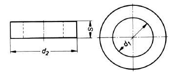 DIN 7989 Scheibe für Stahlkonst.