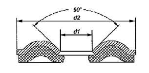 Dichtscheibe f. Senkkopfschraube