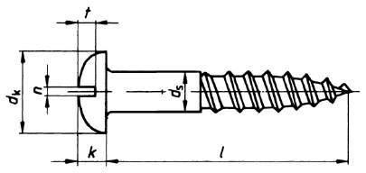 DIN 96 Rundkopf mit Schlitz