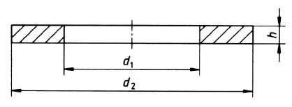 DIN 125 Form A