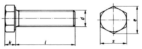 din 933 sechskantschraube o schaft edelstahl. Black Bedroom Furniture Sets. Home Design Ideas