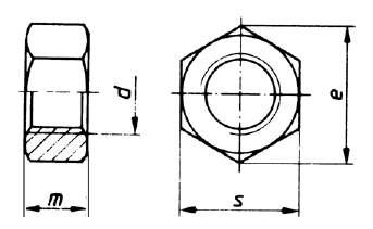 ISO 4032 Sechskantmutter