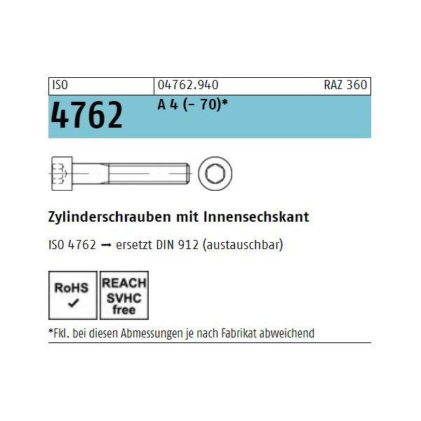 ISO 4762 A 4