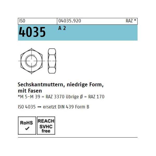 ISO 4035 A 2