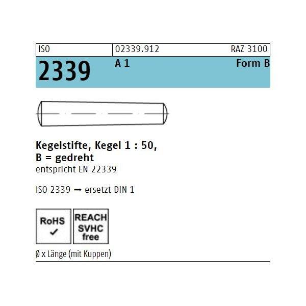 ISO 2339 1.4305 B