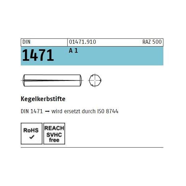 DIN 1471 1.4305 rostfrei A 1