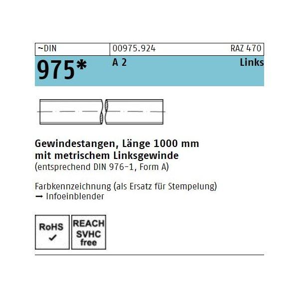 DIN 975 A 2  -LH
