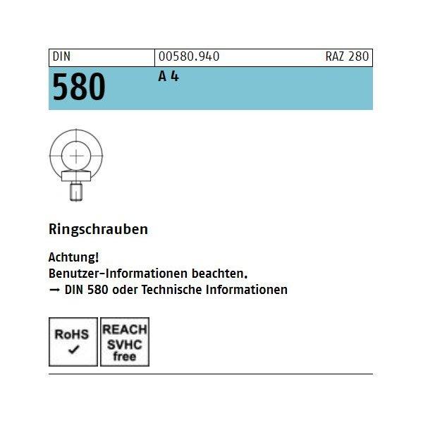 DIN 580 A 4