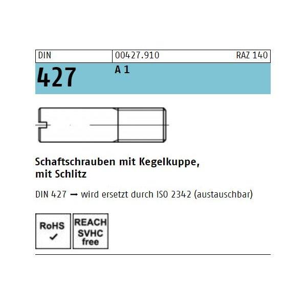 DIN 427 1.4305  A 1