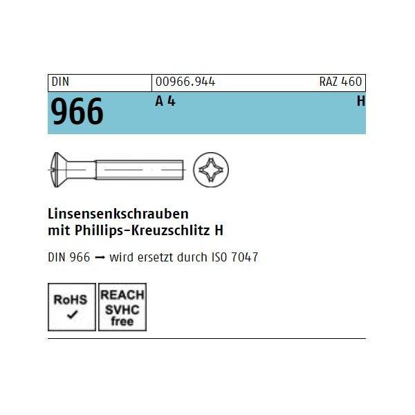 DIN 966 A 4