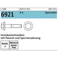 DIN 6921 A 4  mit Sperrverzahnung